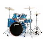 Premier Genista Maple Modern Rock 22 Drum Kit Available In Various Finishes