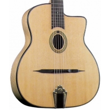 Gitane DG250M Petit Bouche Maple Gypsy Jazz Guitar with 0-Hole (GR52068M)
