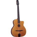 Gitane Cigano GJ-0 Oval Hole Gypsy Jazz Guitar in Natural