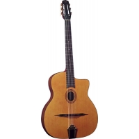 Gitane Cigano GJ0 Oval Hole Gypsy Jazz Guitar in Natural (GR52027)