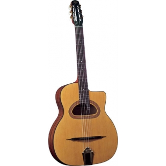 Gitane GJ5 Gypsy Jazz Cigano Guitar With D-Hole in Natural (GR52026)