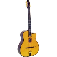 Gitane DG255 Gypsy Jazz Guitar With O-Hole In Natural (GR52067)