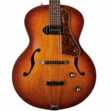 Godin 5th Avenue Kingpin P90 in Cognac Burst