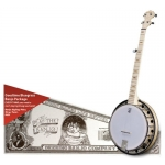 Deering Goodtime 2 Resonator 5 String Bluegrass Banjo Package