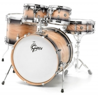 Gretsch Catalina Ash 5 Pc Shell Pack in Black Natural Burst CA1-E825