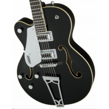 Gretsch G5420LH Hollow-Bodied Electric Guitar in Black, Lefthanded