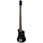 Hofner HCT Shorty 4 String Bass Guitar in Black (HCTSHBBK)