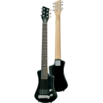 Hofner HCT Shorty Travel Electric Guitar in Black