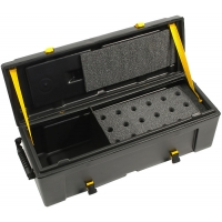 Hardcase 18 Piece Mic + Leads Case HNMIC18
