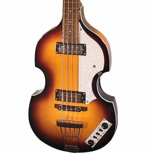 Hofner Ignition 4-String Violin Bass Guitar in Sunburst