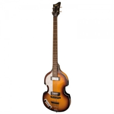 Hofner Ignition Violin Bass Guitar, Sunburst, Lefthanded