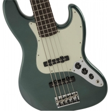 Fender Made in Japan Hybrid Jazz Bass V, Charcoal Frost Metallic