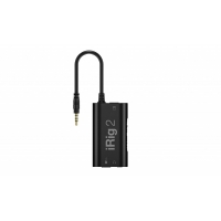 IK Media Multimedia iRig 2 Analog guitar interface for iOS, Mac and Android