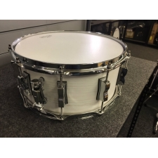 Ludwig Keystone Snare Drum 14x6.5 Snow White, Secondhand