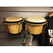 Latin Percussion Bongos plus Stand, Secondhand