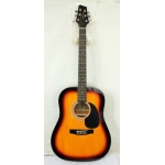 Westcoast SW201 SB Acoustic Guitar in Sunburst