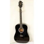 Levin SW203 BK Electro Acoustic Guitar in Black