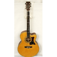 Tanglewood TW55-NS Super Jumbo Cutaway Electro in Natural with Case