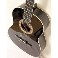 Westcoast Student 4/4 Size Classical Guitar In Black