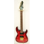 Levin LE1000 Double Cut Electric Guitar In Redburst