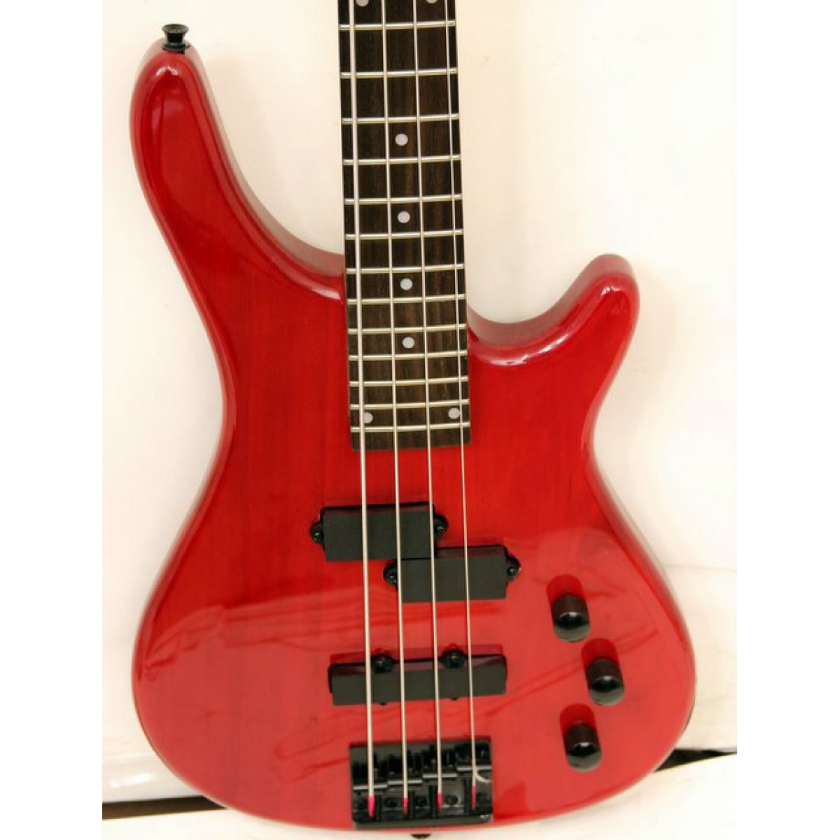 westcoast jp1 4 string bass trans red beginner 39 s bass guitar at promenade music. Black Bedroom Furniture Sets. Home Design Ideas