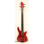 Westcoast JP1 4 String Bass in Trans Red