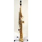 Yanagisawa S901 Bb Soprano Saxophone With Mouthpiece & Sax Case