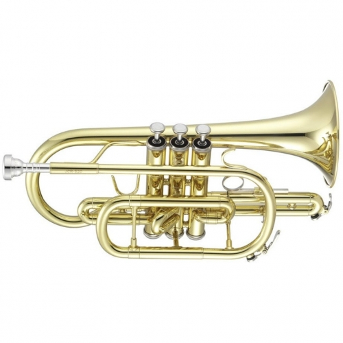 Jupiter JCR700Q Bb Cornet Outfit With Mouthpiece & Backpack Softcase