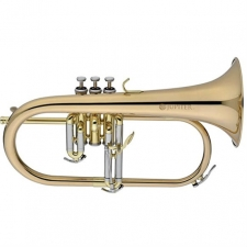 Jupiter JFH1100R Bb Flugelhorn Outfit With Mouthpiece & Case
