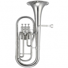 Jupiter JAH700S Eb Tenor Horn Outfit In Silver-plate With Mouthpiece & Case