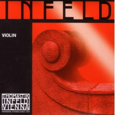 Set - 4/4 Size Infeld Red Medium Tension Violin Strings (IR100 4/4)