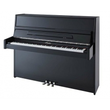 Irmler P112 Studio Series Upright Piano in Polished Black