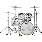 DW Design Series Clear Seamless Acrylic 5 Pc Shell Pack