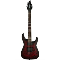 Jackson X Series Soloist SLATTXMGQ3-6, Transparent Red Burst