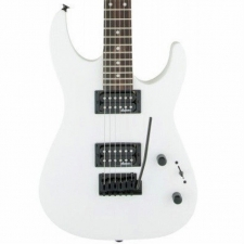 Jackson JS Series Dinky JS11 in Snow White