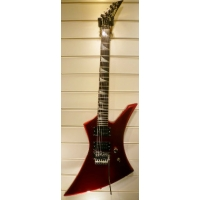 Jackson KE3 Kelly Electric Guitar in Candy Apple Red, Secondhand