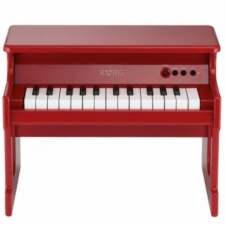 KORG tinyPIANO 25 Mini Key Digital Piano, Red Finish