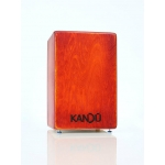 Kandu Tempest Wild Cajon in Dragon Fire Red