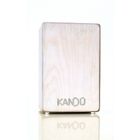 Kandu Flame Wood Cajon In Fine Natural Or Whorled Wood Finish
