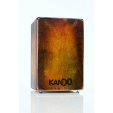 Kandu Flame Wild Cajon in Nut Brown