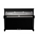 Kemble K113 Upright Piano in Black Polyester
