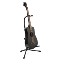 KLOS Deluxe Electro Travel Guitar with Stiffening Rods & Accessory Pack (T_DAE)