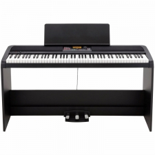 Korg XE20SP Digital Ensemble Piano with Home Stand & 3-Pedal Unit