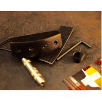 Krivo Bass Pickup (Black) - Magnetic Bass Pickup for Double Basses & EUB's