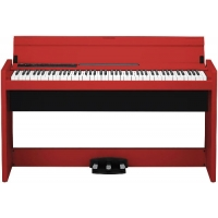 Korg LP380 Digital Piano in Red
