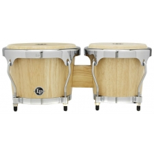 LP Highline Series Bongos, Natural LPH601-SNC
