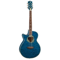 Luna Fauna Dolphin, Electro Acoustic Guitar,. Lefty TBL, Secondhand