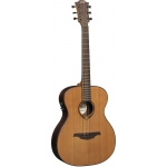 LAG T300AE Electro Acoustic Guitar In Natural French Satin