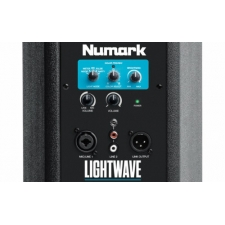 Numark Lightwave Powered DJ Loudspeaker with Dual LED Arrays