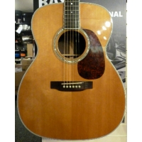 Martin M38 American Electro Acoustic Guitar in Natural inc Case, Secondhand